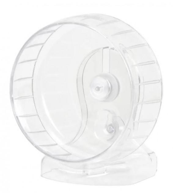 Marukan 新款樹脂軸跑輪 易清洗 17cm (全透明)